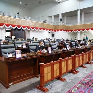 Anggota DPRD Kepri Serius mendengarkan pemaparan